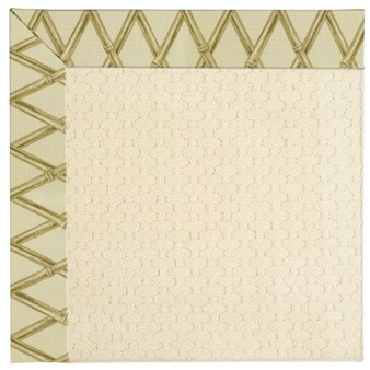 Capel Rugs Creative Concepts Sugar Mountain - Bamboo Rattan (706) Octagon 4' x 4' Area Rug