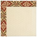 Capel Rugs Creative Concepts Sugar Mountain - Shoreham Brick (800) Octagon 4