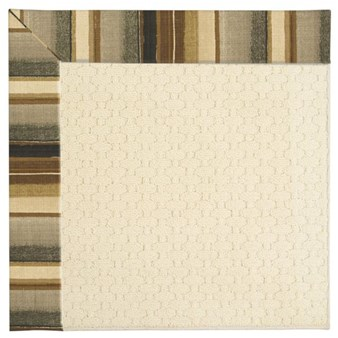 Capel Rugs Creative Concepts Sugar Mountain - Kalani Coal (330) Octagon 6' x 6' Area Rug