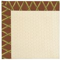 Capel Rugs Creative Concepts Sugar Mountain - Bamboo Cinnamon (856) Octagon 6