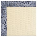 Capel Rugs Creative Concepts Sugar Mountain - Paddock Shawl Indigo (475) Octagon 8
