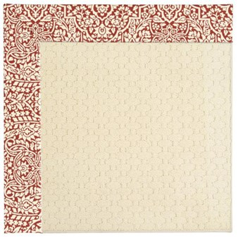 Capel Rugs Creative Concepts Sugar Mountain - Imogen Cherry (520) Octagon 8' x 8' Area Rug