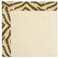 Capel Rugs Creative Concepts Sugar Mountain - Couture King Chestnut (756) Octagon 8