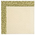 Capel Rugs Creative Concepts Sugar Mountain - Coral Cascade Avocado (225) Octagon 12