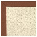 Capel Rugs Creative Concepts Sugar Mountain - Linen Chili (845) Octagon 12