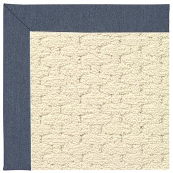 Capel Rugs Creative Concepts Sugar Mountain - Heritage Denim (447) Rectangle 6' x 6' Area Rug