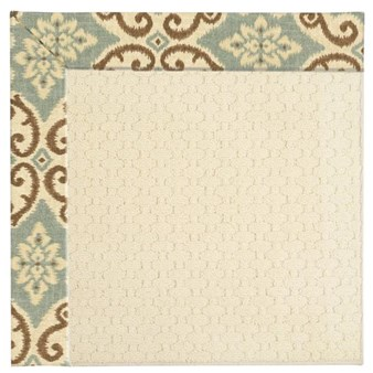 Capel Rugs Creative Concepts Sugar Mountain - Shoreham Spray (410) Rectangle 10' x 14' Area Rug