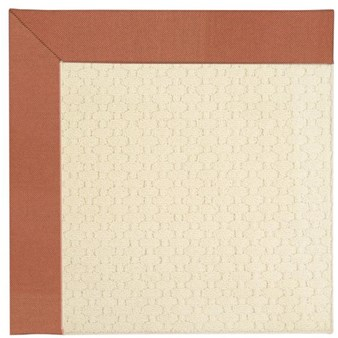 Capel Rugs Creative Concepts Sugar Mountain - Canvas Persimmon (847) Rectangle 10' x 14' Area Rug