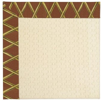 Capel Rugs Creative Concepts Sugar Mountain - Bamboo Cinnamon (856) Rectangle 10' x 14' Area Rug