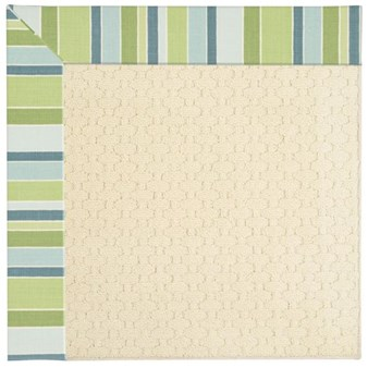 Capel Rugs Creative Concepts Sugar Mountain - Capri Stripe Breeze (430) Rectangle 12' x 15' Area Rug