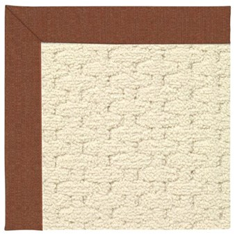 Capel Rugs Creative Concepts Sugar Mountain - Linen Chili (845) Rectangle 12' x 15' Area Rug