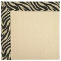 Capel Rugs Creative Concepts Beach Sisal - Wild Thing Onyx (396) Octagon 4