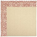 Capel Rugs Creative Concepts Beach Sisal - Imogen Cherry (520) Runner 2