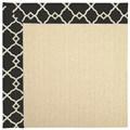 Capel Rugs Creative Concepts Beach Sisal - Arden Black (346) Rectangle 8