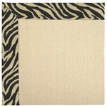 Capel Rugs Creative Concepts Beach Sisal - Wild Thing Onyx (396) Rectangle 12' x 12' Area Rug