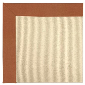 Capel Rugs Creative Concepts Beach Sisal - Canvas Rust (837) Rectangle 12' x 12' Area Rug