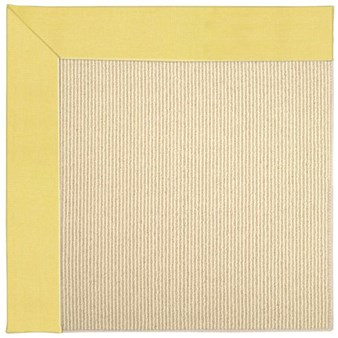 Capel Rugs Creative Concepts Beach Sisal - Canvas Buttercup (127) Rectangle 12' x 15' Area Rug