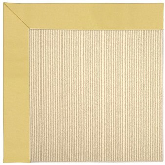Capel Rugs Creative Concepts Beach Sisal - Canvas Canary (137) Rectangle 12' x 15' Area Rug