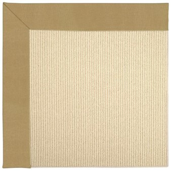 Capel Rugs Creative Concepts Beach Sisal - Canvas Brass (180) Rectangle 12' x 15' Area Rug