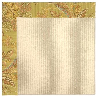 Capel Rugs Creative Concepts Beach Sisal - Cayo Vista Tea Leaf (210) Rectangle 12' x 15' Area Rug