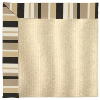 Capel Rugs Creative Concepts Beach Sisal - Granite Stripe (335) Rectangle 12' x 15' Area Rug
