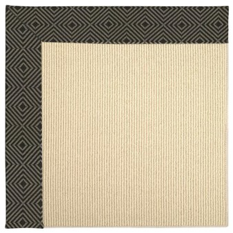 Capel Rugs Creative Concepts Beach Sisal - Fortune Lava (394) Rectangle 12' x 15' Area Rug