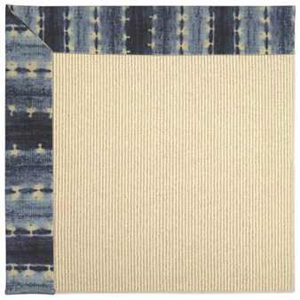 Capel Rugs Creative Concepts Beach Sisal - Java Journey Indigo (460) Rectangle 12' x 15' Area Rug