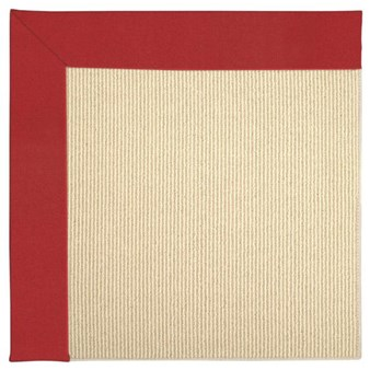 Capel Rugs Creative Concepts Beach Sisal - Canvas Jockey Red (527) Rectangle 12' x 15' Area Rug