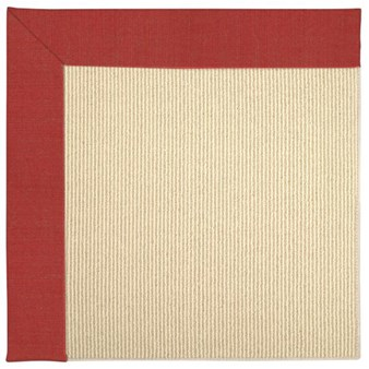 Capel Rugs Creative Concepts Beach Sisal - Dupione Crimson (575) Rectangle 12' x 15' Area Rug