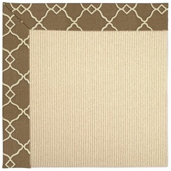 Capel Rugs Creative Concepts Beach Sisal - Arden Chocolate (746) Rectangle 12' x 15' Area Rug