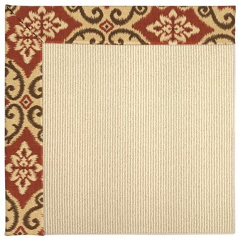 Capel Rugs Creative Concepts Beach Sisal - Shoreham Brick (800) Rectangle 12' x 15' Area Rug