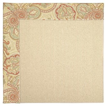 Capel Rugs Creative Concepts Beach Sisal - Paddock Shawl Persimmon (810) Rectangle 12' x 15' Area Rug