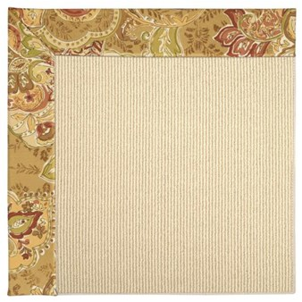 Capel Rugs Creative Concepts Beach Sisal - Tuscan Vine Adobe (830) Rectangle 12' x 15' Area Rug
