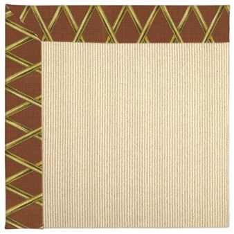 Capel Rugs Creative Concepts Beach Sisal - Bamboo Cinnamon (856) Rectangle 12' x 15' Area Rug