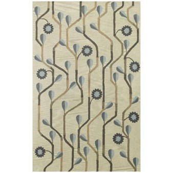 "Capel Daisy Climber 460 Blue Multi (3027 460) Rectangle 8'0"" x 10'0"" Area Rug"