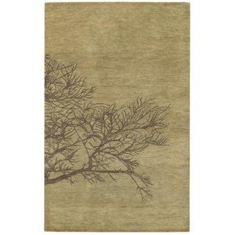 "Capel Graphique Shadow 225 Moss (3391 225) Rectangle 8'0"" x 11'0"" Area Rug"