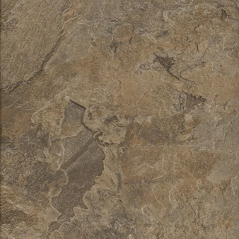 Signature Altiva Mesa Stone: Chocolate Luxury Vinyl Tile D6109