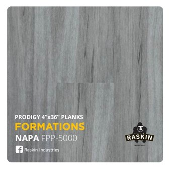 Raskin Elevations Prodigy: Napa Luxury Vinyl Plank R-FPP-5000