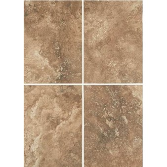 "Daltile Esta Villa: Cottage Brown 10"" x 14"" Glazed Porcelain Wall Tile EV9910141P2"