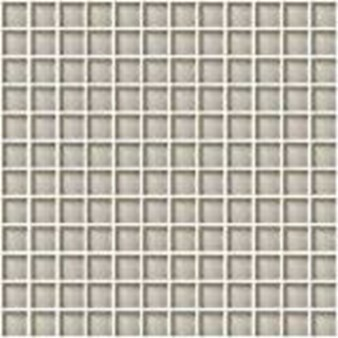"Daltile Color Wave Glass Mosaic 1"" x 1"" : Silver Mink CW0411MS1P"