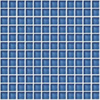 "Daltile Color Wave Glass Mosaic 1"" x 1"" : Twilight Blue CW1411MS1P"