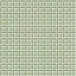 "Daltile Color Wave Glass Mosaic 1"" x 1"" : Green Parade CW1511MS1P"