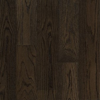 "Armstrong Prime Harvest Oak: Blackened Brown 1/2"" x 3"" Engineered Oak Hardwood 4210OBB"