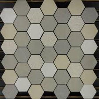 Glass Tile Amp Stone Porcelain 2 Quot Hexagon Series Mosaic 12