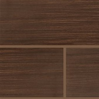"MS International Sygma: Chocolate 6"" x 24"" Ceramic Tile NSYGCHO6X24"