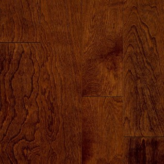 "Bruce by Armstrong Turlington Signature Series: Glazed Rust Red 3/8"" x 3"" Engineered Oak Hardwood E3317"