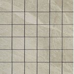 "Daltile Continental Slate: Mosaic Asian Black - 3"" x 3"""
