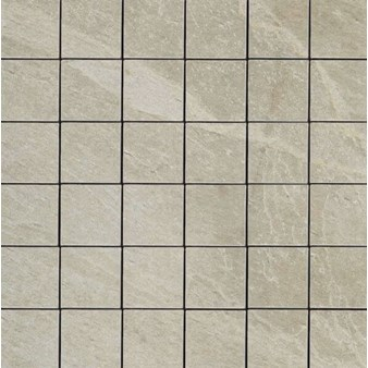 "Daltile Continental Slate: Mosaic English Grey - 3"" x 3"""