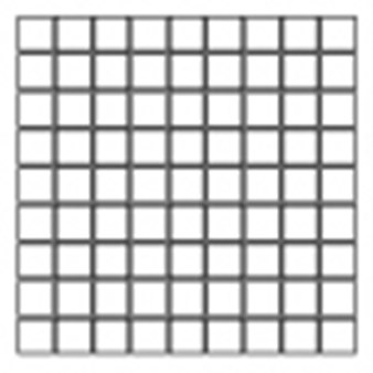 "American Olean Studio District: Mosaic Gesso White - 3"" x 3"""