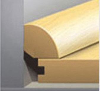 Plus XL: Quarter Round Mt. Pleasant Pine Engineered Luxury Vinyl Plank ...